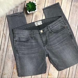 Current/Elliott Stiletto Sidewalk Gray Jeans